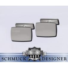 Manschettenknöpfe Silber I
