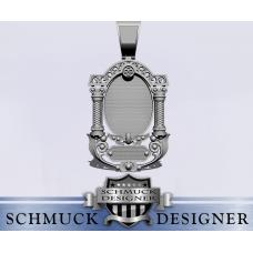 Silberanhänger Ikone