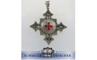 Templerkreuz Silber